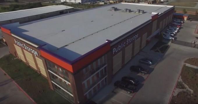 Public Storage Aerial