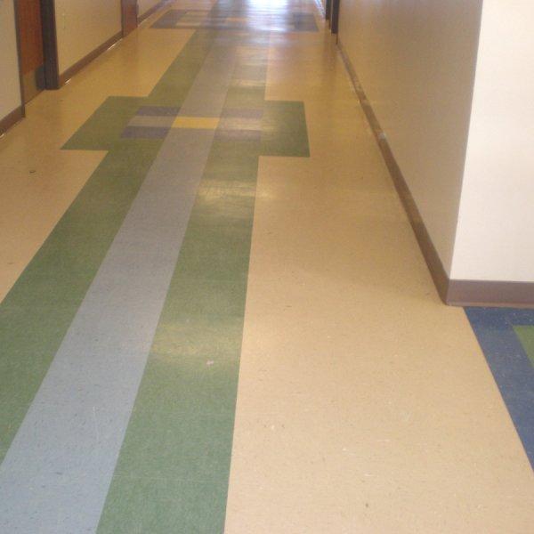 Floor Tile Schools : Buckeye high