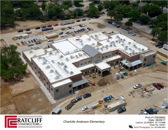 Charlotte Anderson Elementary School For Mansfield Isd