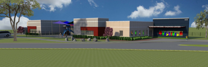 Arlington park early childhood center for dallas isd arlington park eec rendering sciox Choice Image