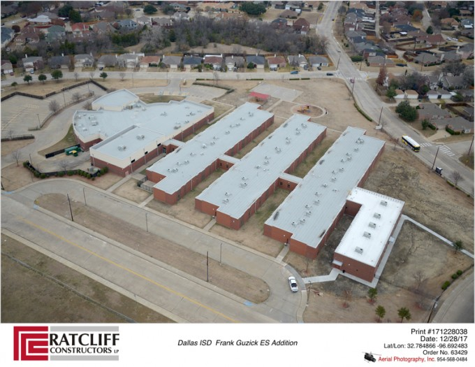 Frank Guzick Elementary School Addition For Dallas Isd