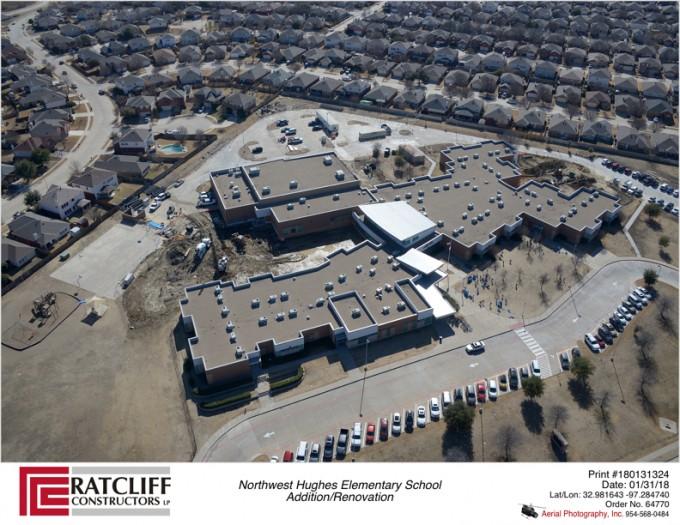 Northwest Isd Hughes Elementary School Addition