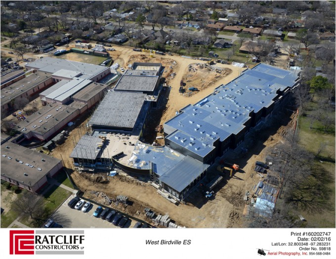 Metal Roofing Baton Rouge West Birdville Elementary School Replacement – Haltom City, TX