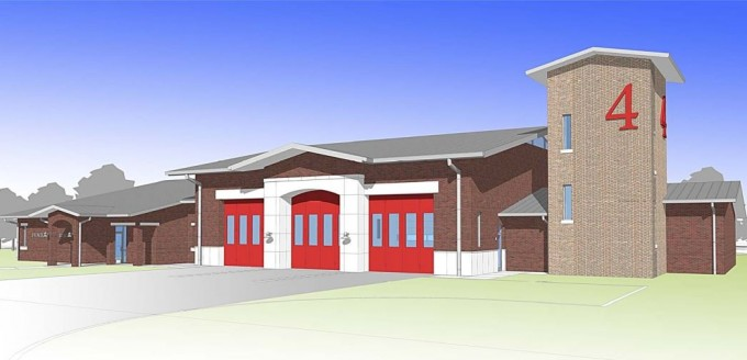 Denton fire station no 4 denton fire station 4 rendering sciox Choice Image