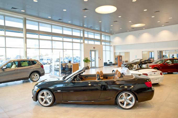 Mercedes-BMW Dealership